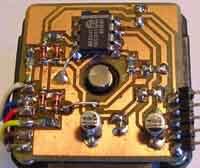 Радиокот:: энкодер из шагового двигателя.